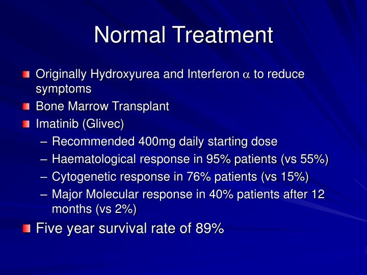 Normal Treatment