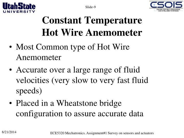 Constant Temperature