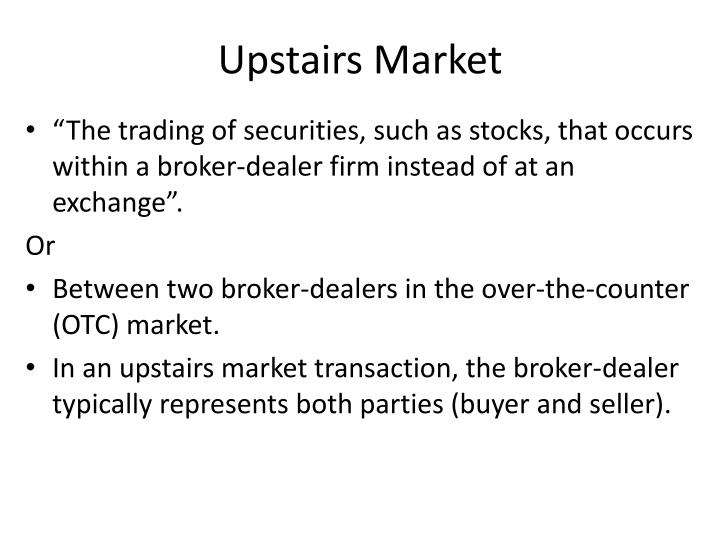 Upstairs Market