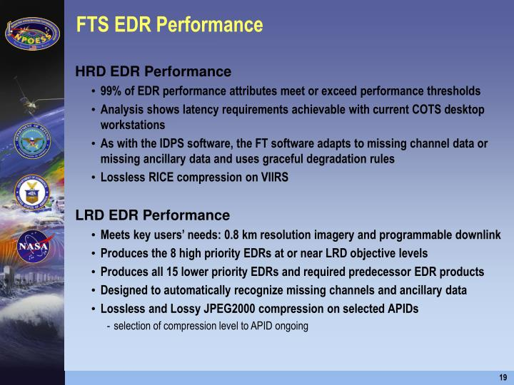 FTS EDR Performance
