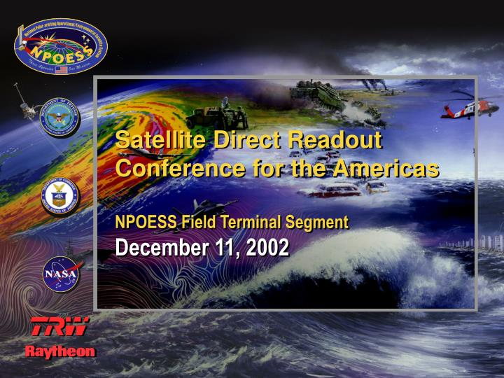 Satellite Direct Readout Conference for the Americas