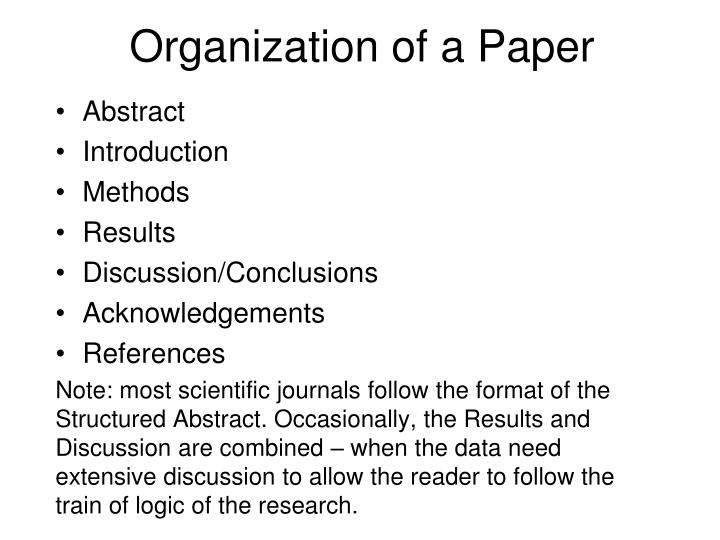 abstract part of research paper Abstract guidelines for papers  although strictly not part of your abstract,  you need to make a clear statement of the topic of your paper and your research.