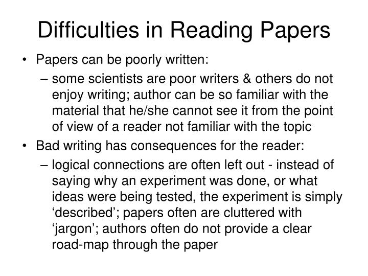essay about reading difficulty This paper discusses two programs for teaching students with reading difficulties: edmark and reading matery.