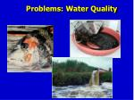 problems water quality