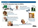 tools for ewcs11