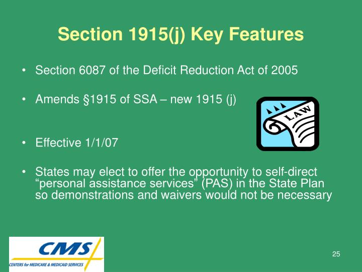 Section 1915(j) Key Features