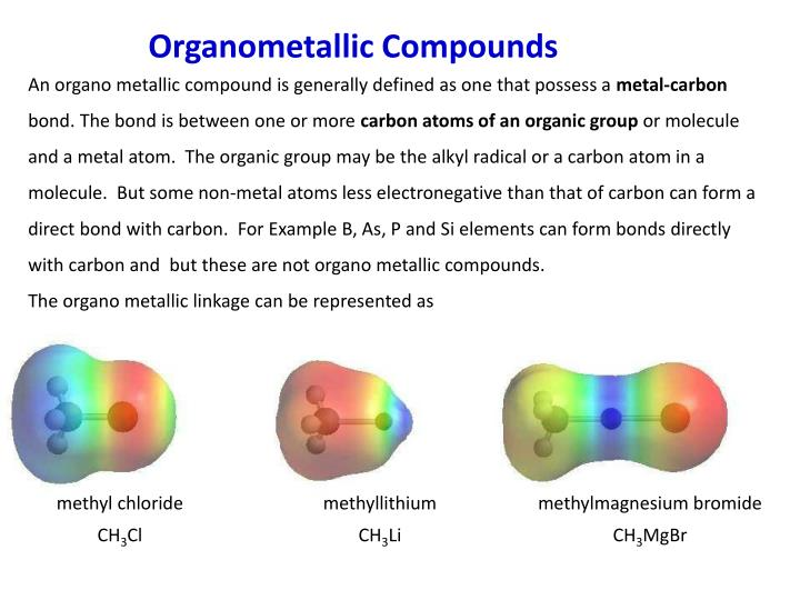 PPT - Organometallic Compounds PowerPoint Presentation ...