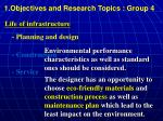1 objectives and research topics group 41