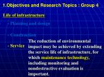 1 objectives and research topics group 43