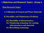 1 objectives and research topics group 44
