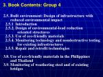3 book contents group 4