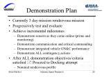 demonstration plan