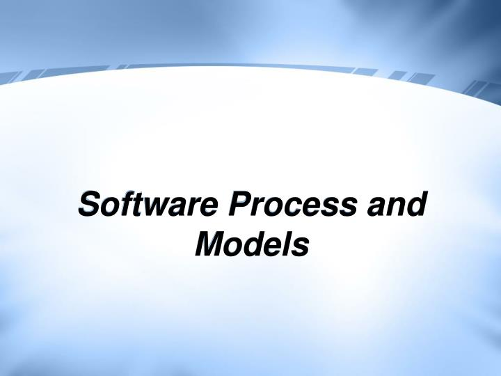 software process and models n.