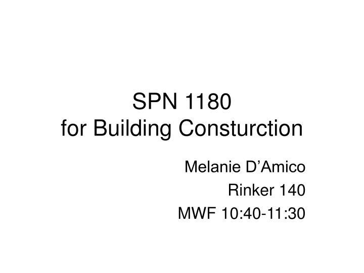 spn 1180 for building consturction n.
