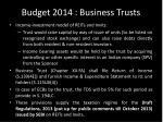 budget 2014 business trusts1