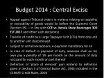 budget 2014 central excise1