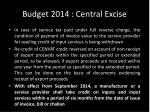 budget 2014 central excise2