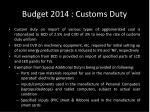 budget 2014 customs duty2