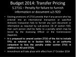budget 2014 transfer pricing s 271g penalty for failure to furnish information or document u s 92d