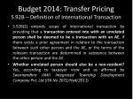budget 2014 transfer pricing s 92b definition of international transaction