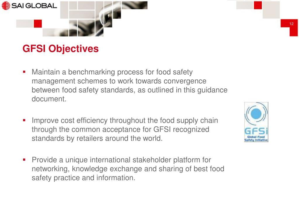 PPT - Global Food Safety Standards - Overview & Comparison