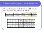 5 2 numerical analysis static interest rate1