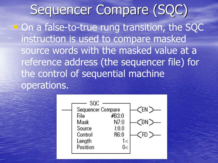Sequencer Compare (SQC)