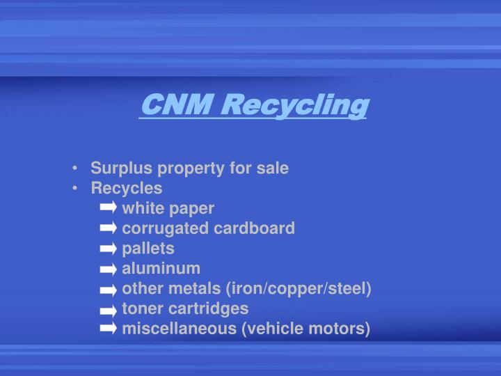 CNM Recycling