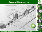 cement kiln process