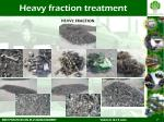 heavy fraction treatment