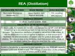 rea distillation