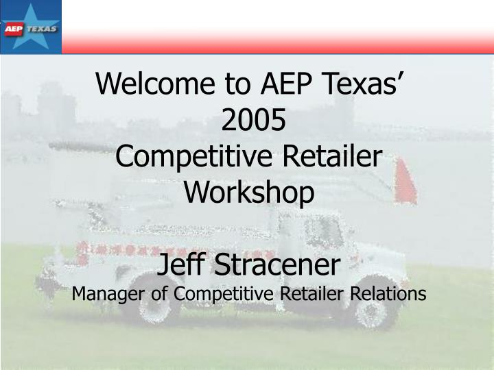 Welcome to AEP Texas'