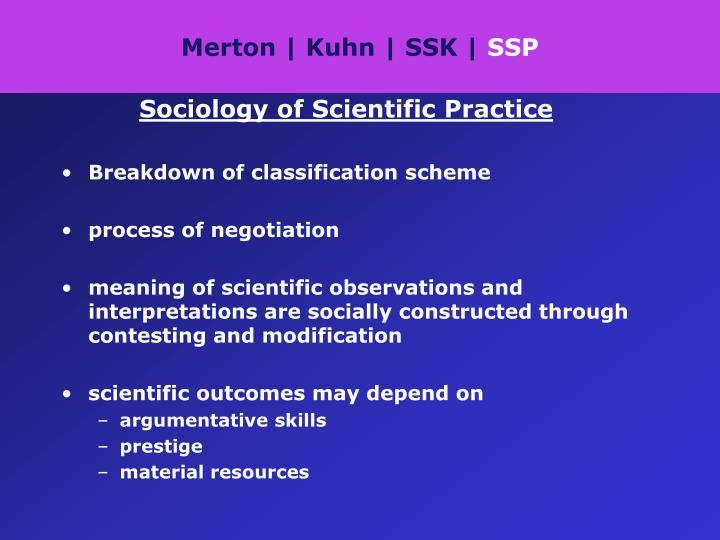 Merton | Kuhn | SSK |