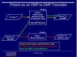 polaris as an omp to omp translator