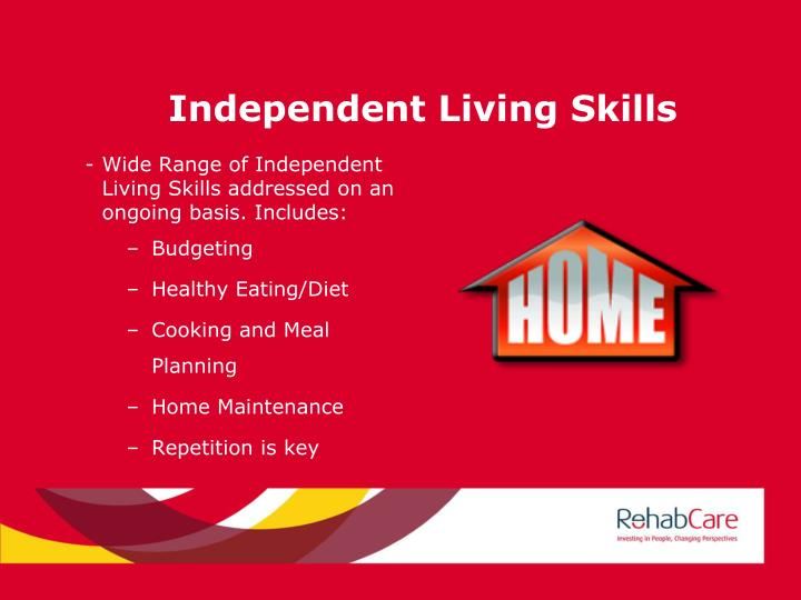 Independent Living Skills
