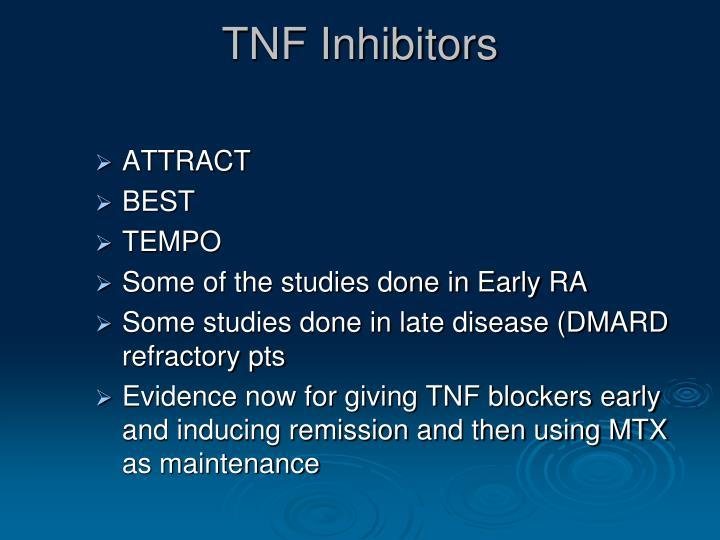 TNF Inhibitors
