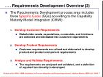 requirements development overview 2