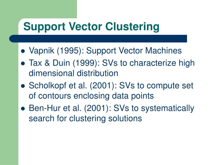 Support Vector Clustering