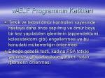 w elf program n n katk lar1