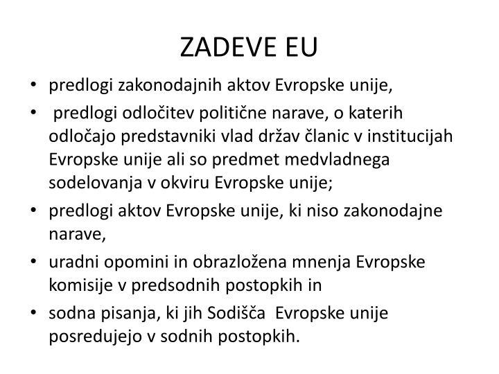 ZADEVE EU