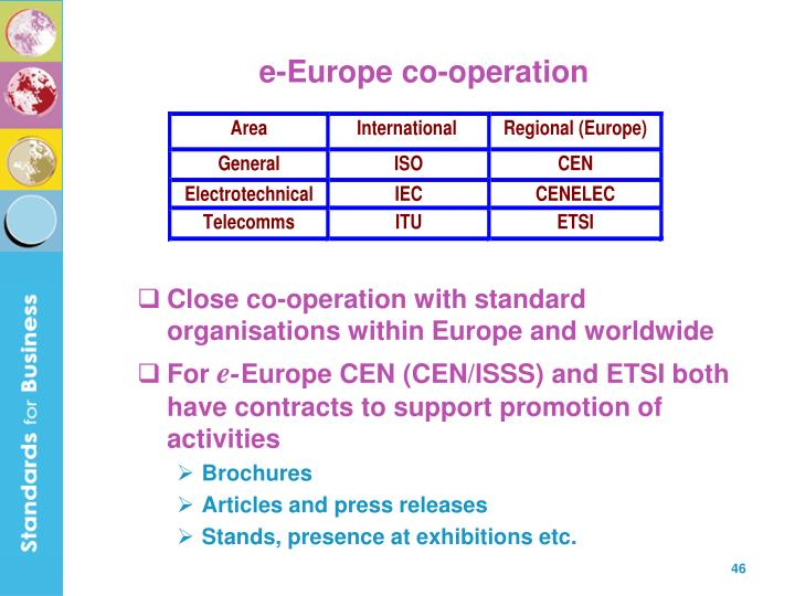 e-Europe co-operation