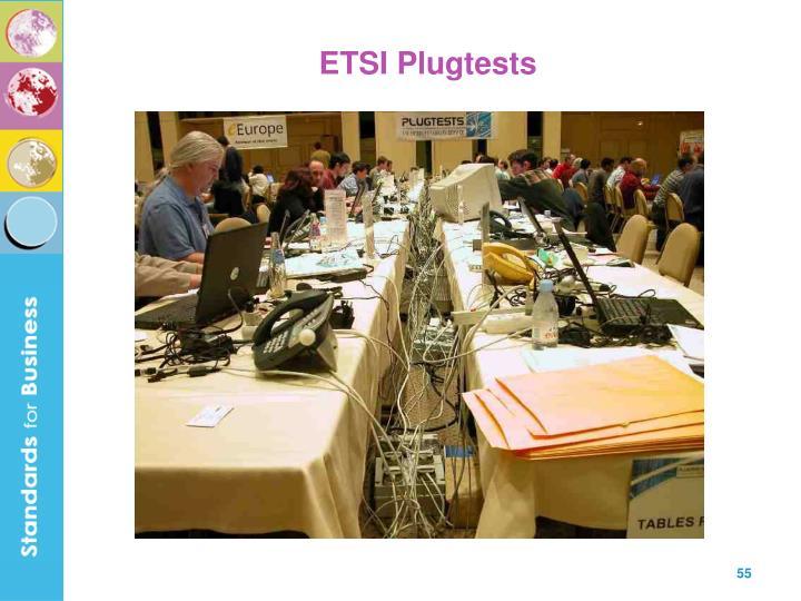 ETSI Plugtests