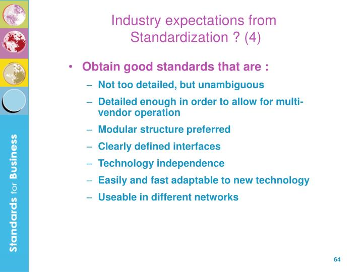 Industry expectations from