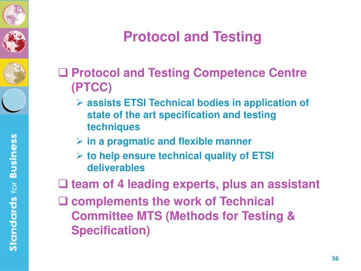Protocol and Testing