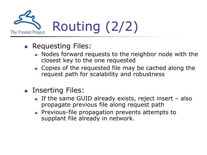 Routing (2/2)
