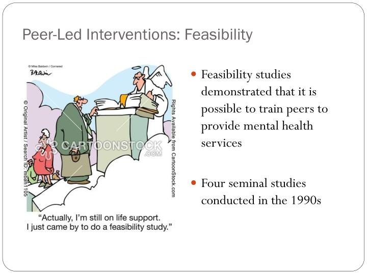 Peer-Led Interventions: Feasibility