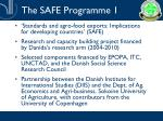 the safe programme 1