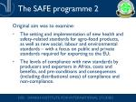the safe programme 2