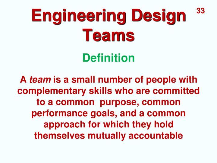 Engineering Design Teams