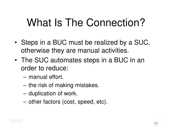 What Is The Connection?